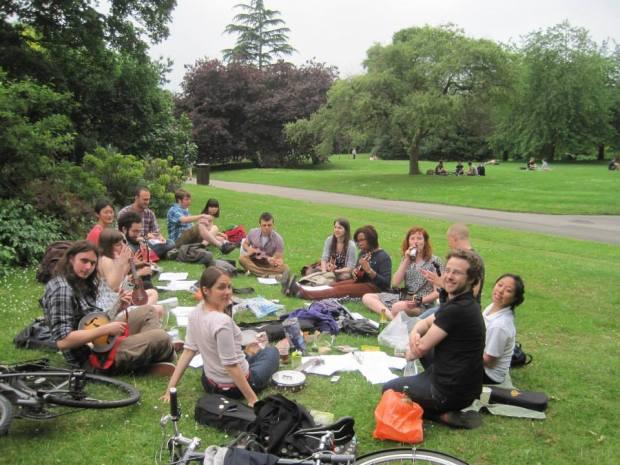 ukulele picnic